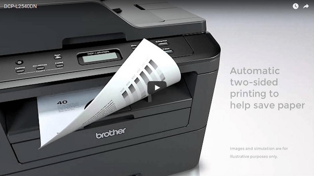 DCP-L2540DN Mono Laser Printer 4