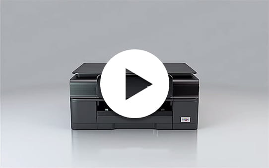 DCP-J552DW All-in-One Inkjet Printer + Duplex and Wireless 4