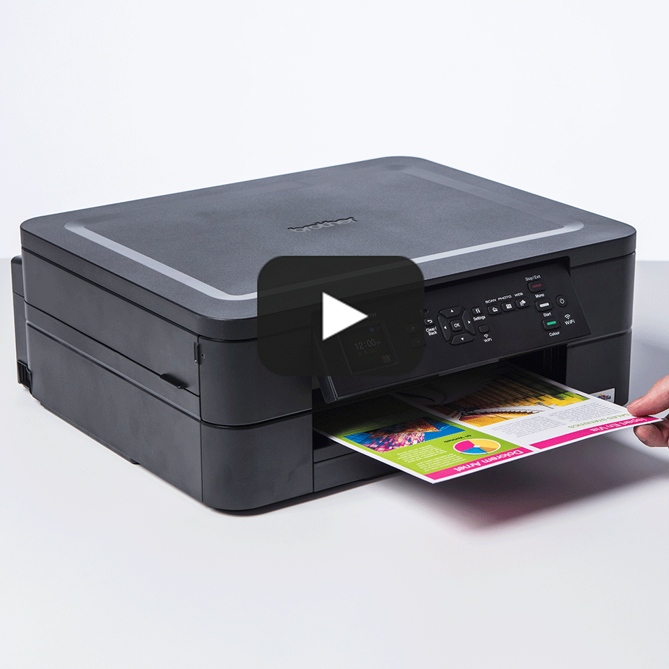 Wireless 3-in-1 Inkjet Printer DCP-J572DW 8