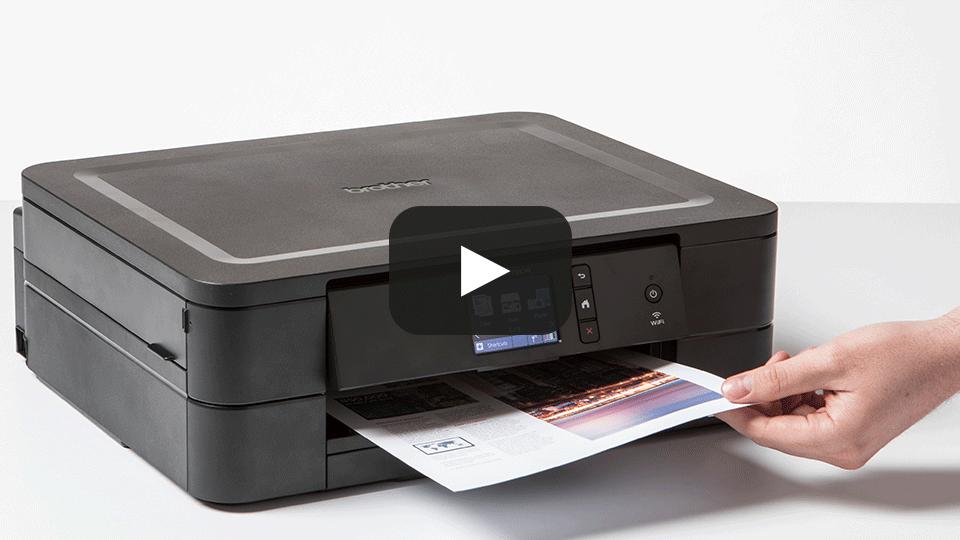 DCP-J772DW Wireless 3-in-1 Inkjet Printer 7