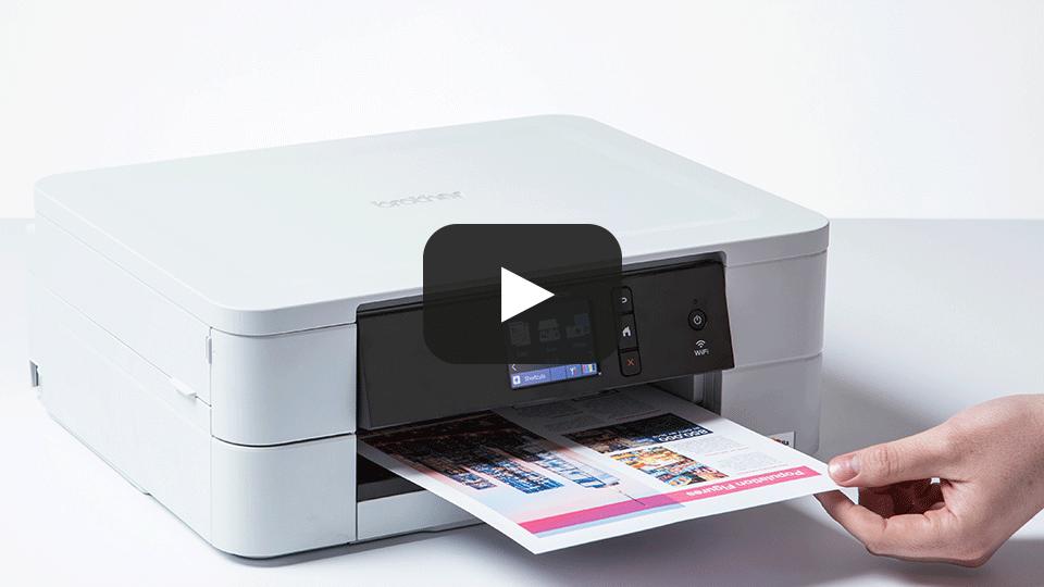 DCP-J774DW Wireless 3-in-1 Inkjet Printer 7