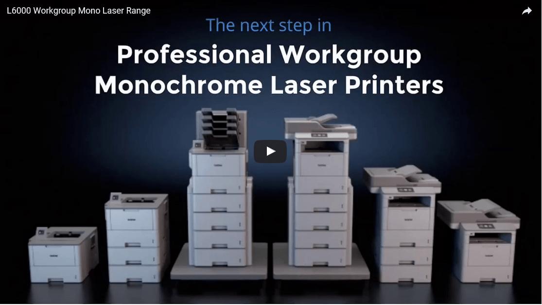 HL-L6400DWT Mono Laser Printer + WiFi 5
