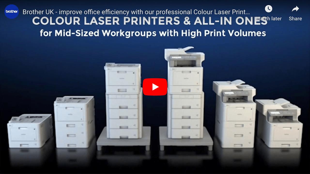 HL-L8260CDW Wireless Colour Laser Printer 5