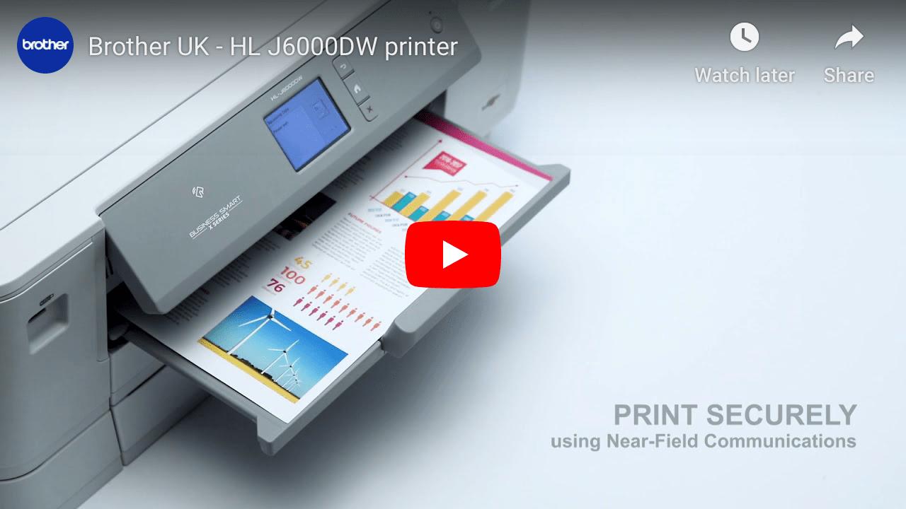 HL-J6000DW Colour Wireless A3 Inkjet Printer 7