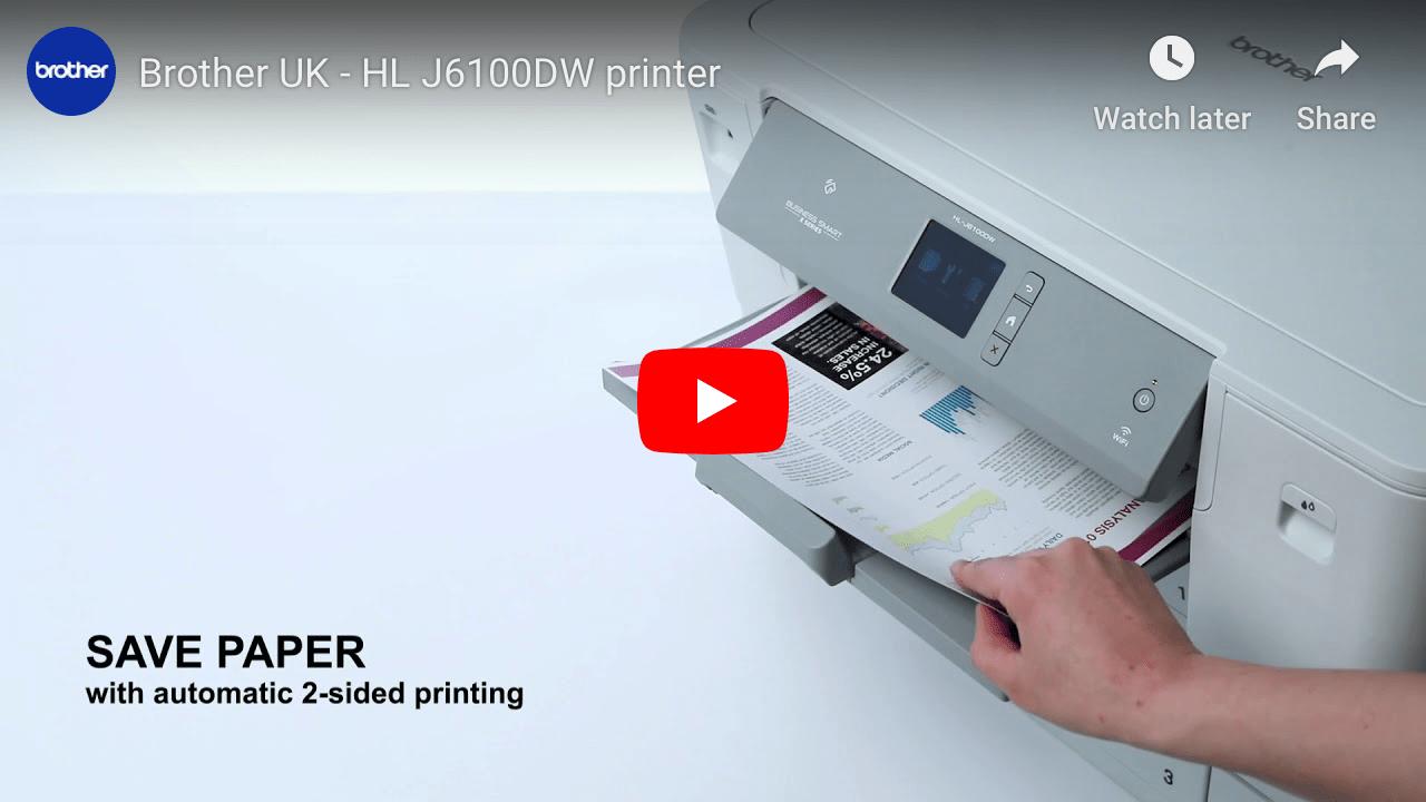 HL-J6100DW Colour Wireless A3 Inkjet Printer 8