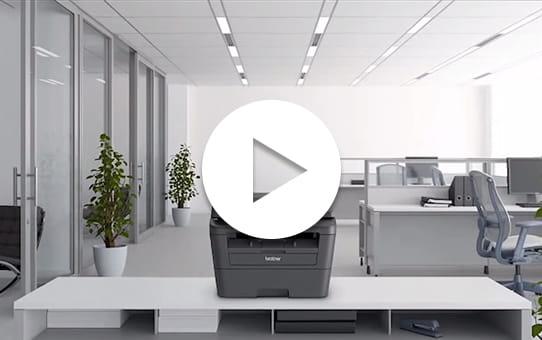 MFC-L2720DW Wireless Mono Laser Printer  4