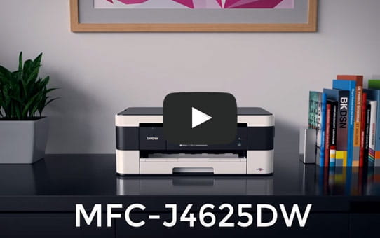MFC-J4625DW Wireless Compact Inkjet  4