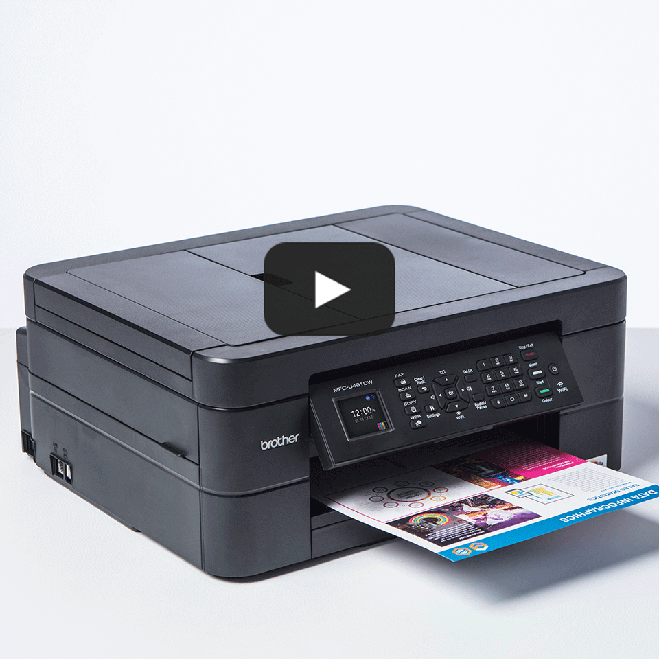 Wireless 4-in-1 Inkjet Printer MFC-J491DW 8