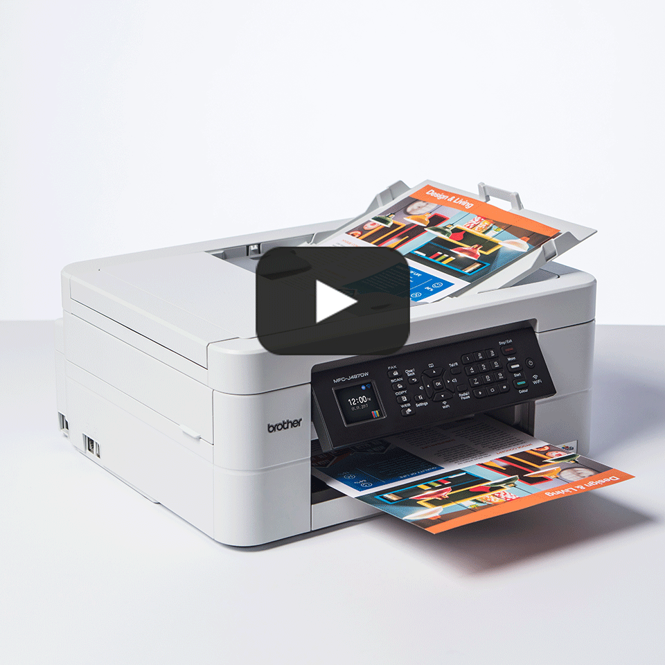 Wireless 4-in-1 Inkjet Printer MFC-J497DW 8