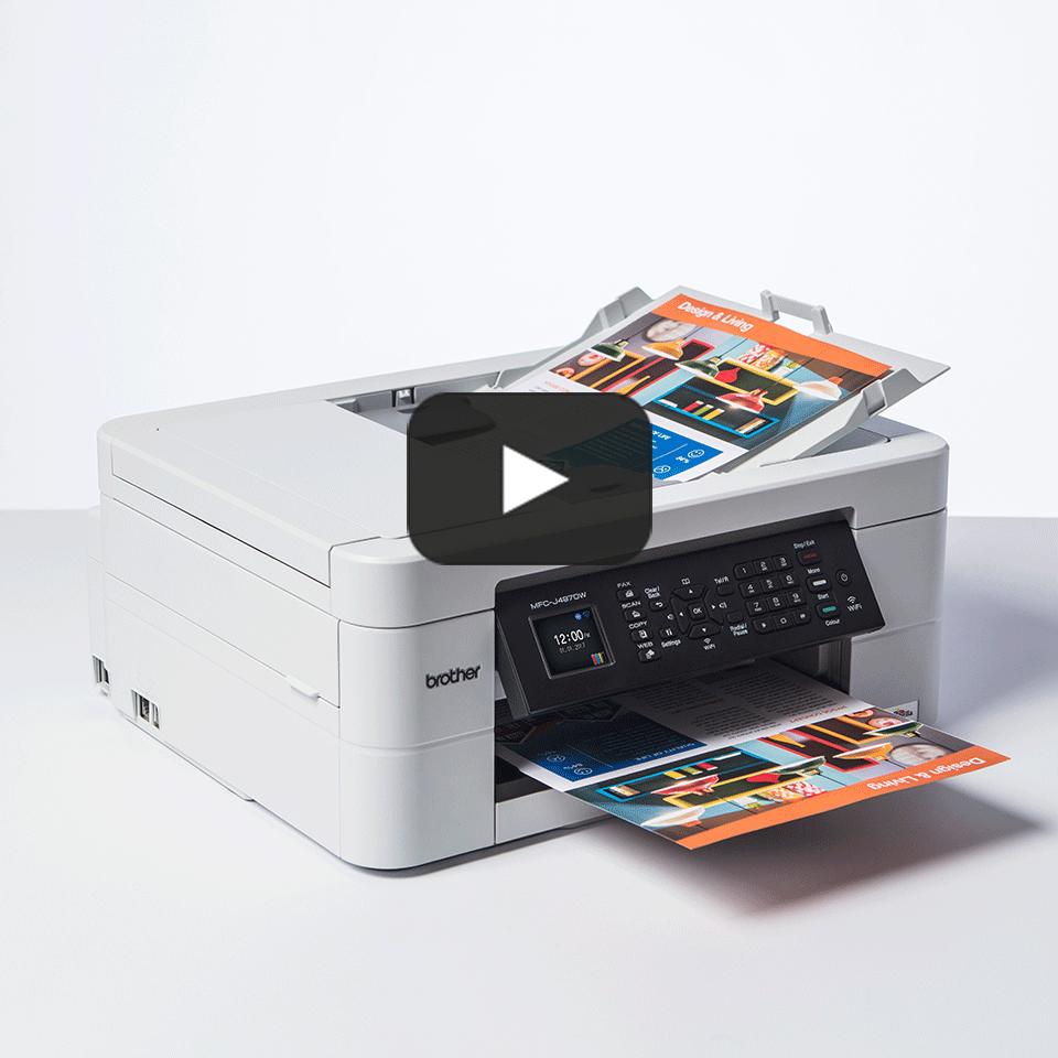Wireless 4-in-1 Inkjet Printer MFC-J497DW 8