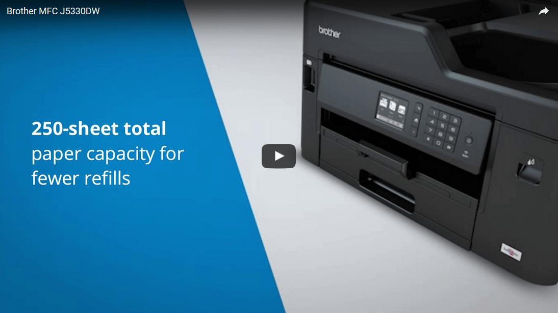 MFC-J5330DW All-in-one Inkjet Printer 7