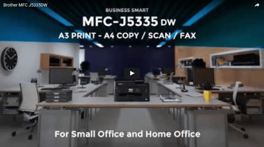 MFC-J5335DW A4 Wireless Inkjet Printer 4