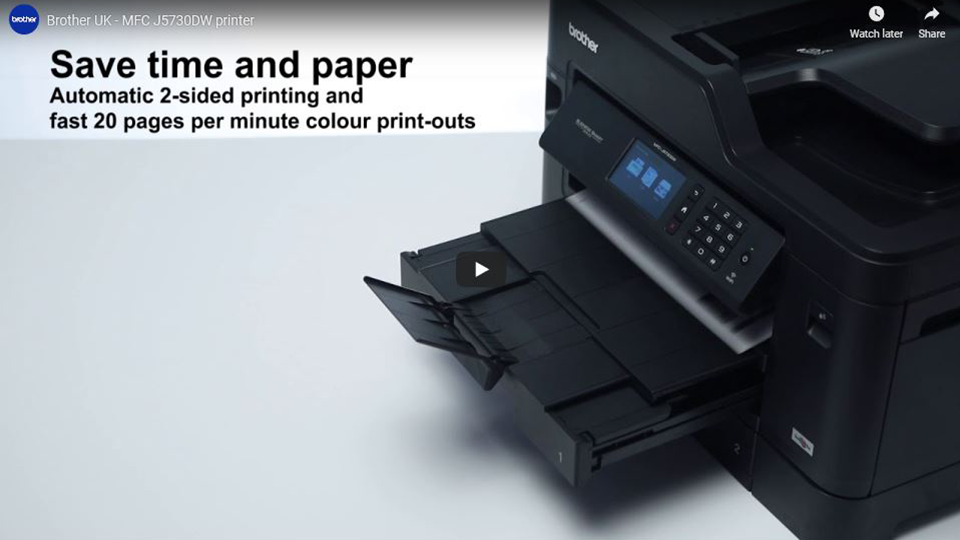 MFC-J5730DW Wireless A4 Inkjet Printer 7