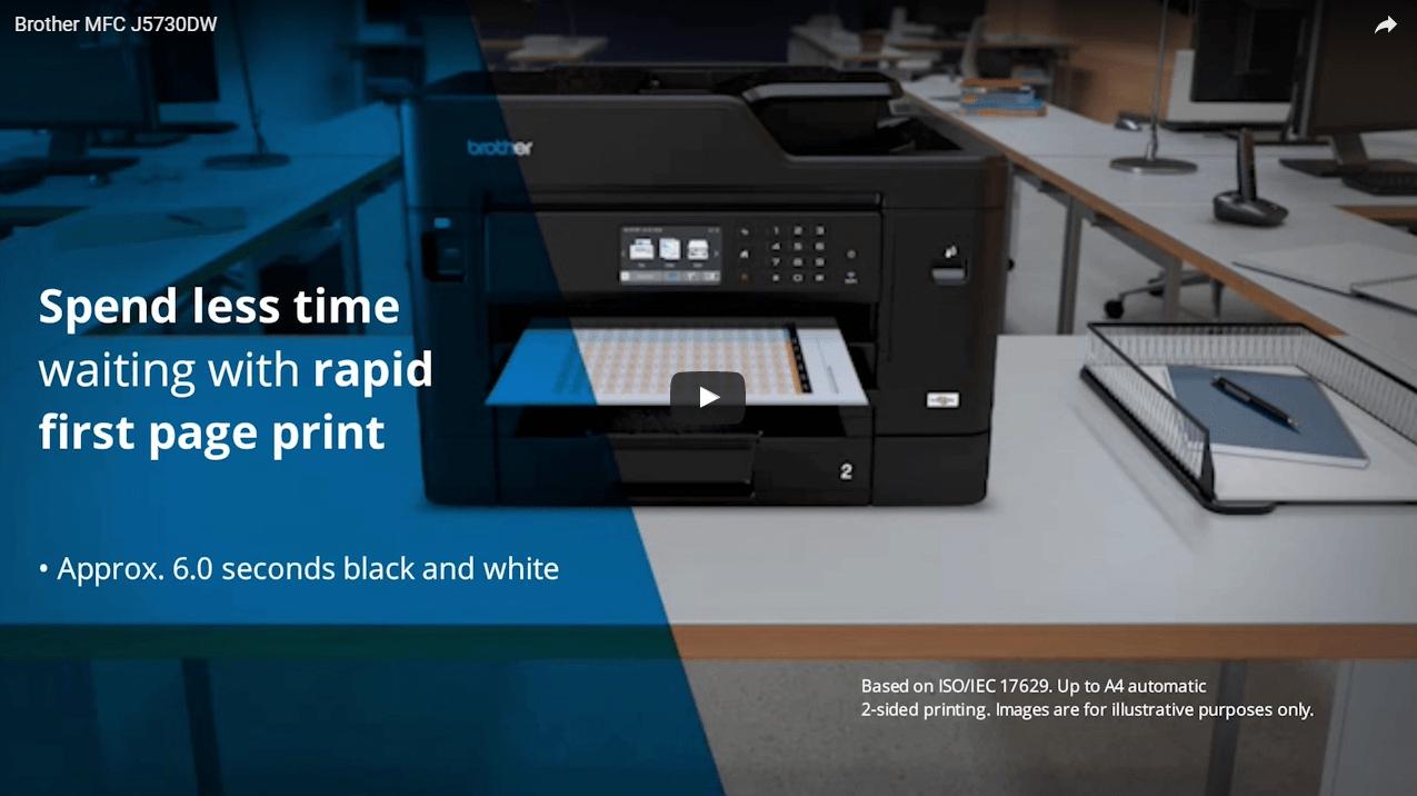MFC-J5730DW Wireless A4 Inkjet Printer 8