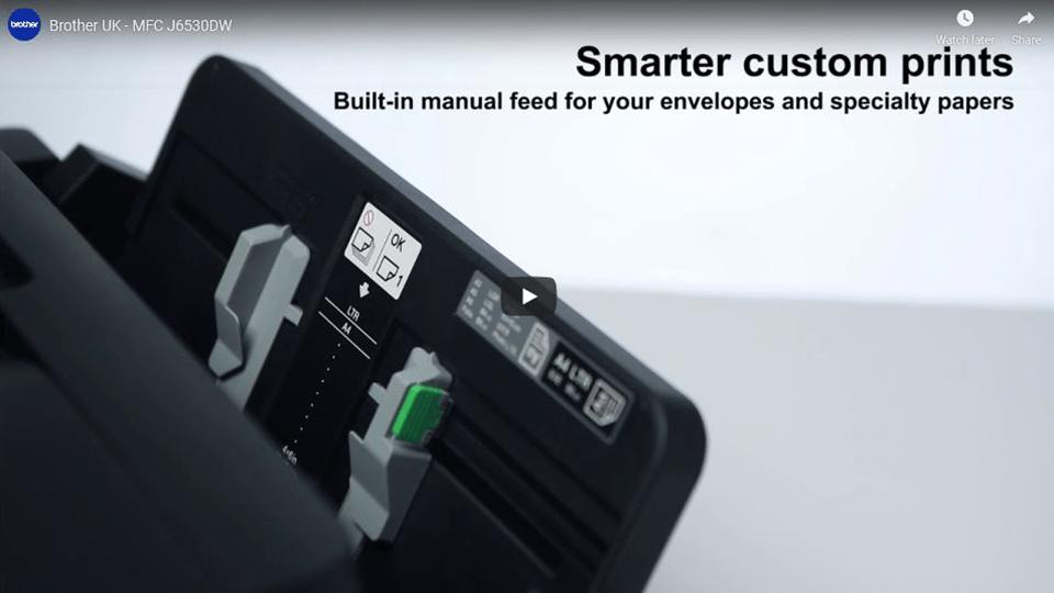 MFC-J6530DW All-in-one Wireless Inkjet 4