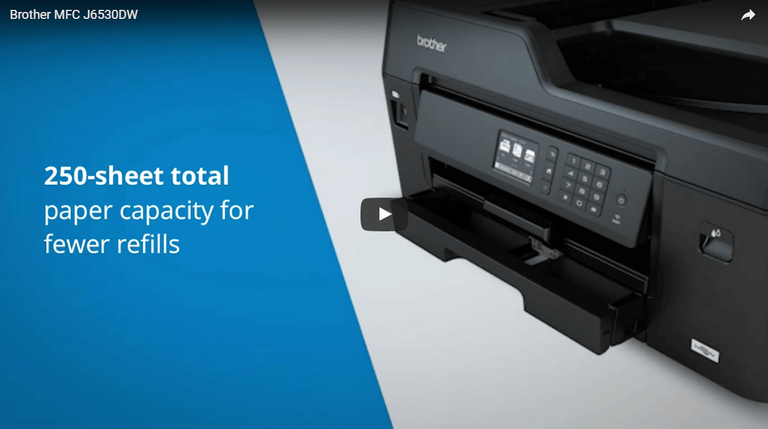 MFC-J6530DW All-in-one Wireless Inkjet 4