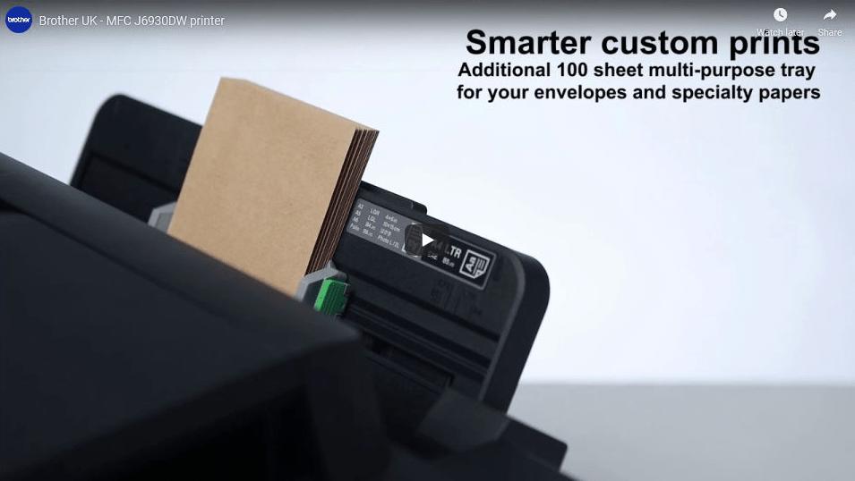 MFC-J6930DW Wireless Inkjet Printer 5