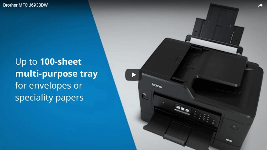 MFC-J6930DW Wireless Inkjet Printer 4