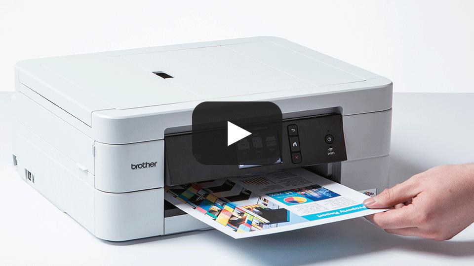 MFC-J895DW All-in-one Wireless Inkjet Printer + NFC  7