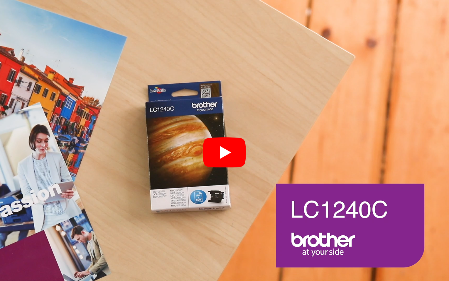 Genuine Brother LC1240C Ink Cartridge – Cyan 5