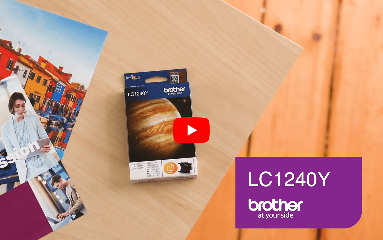 Genuine Brother LC1240Y Ink Cartridge – Yellow 5