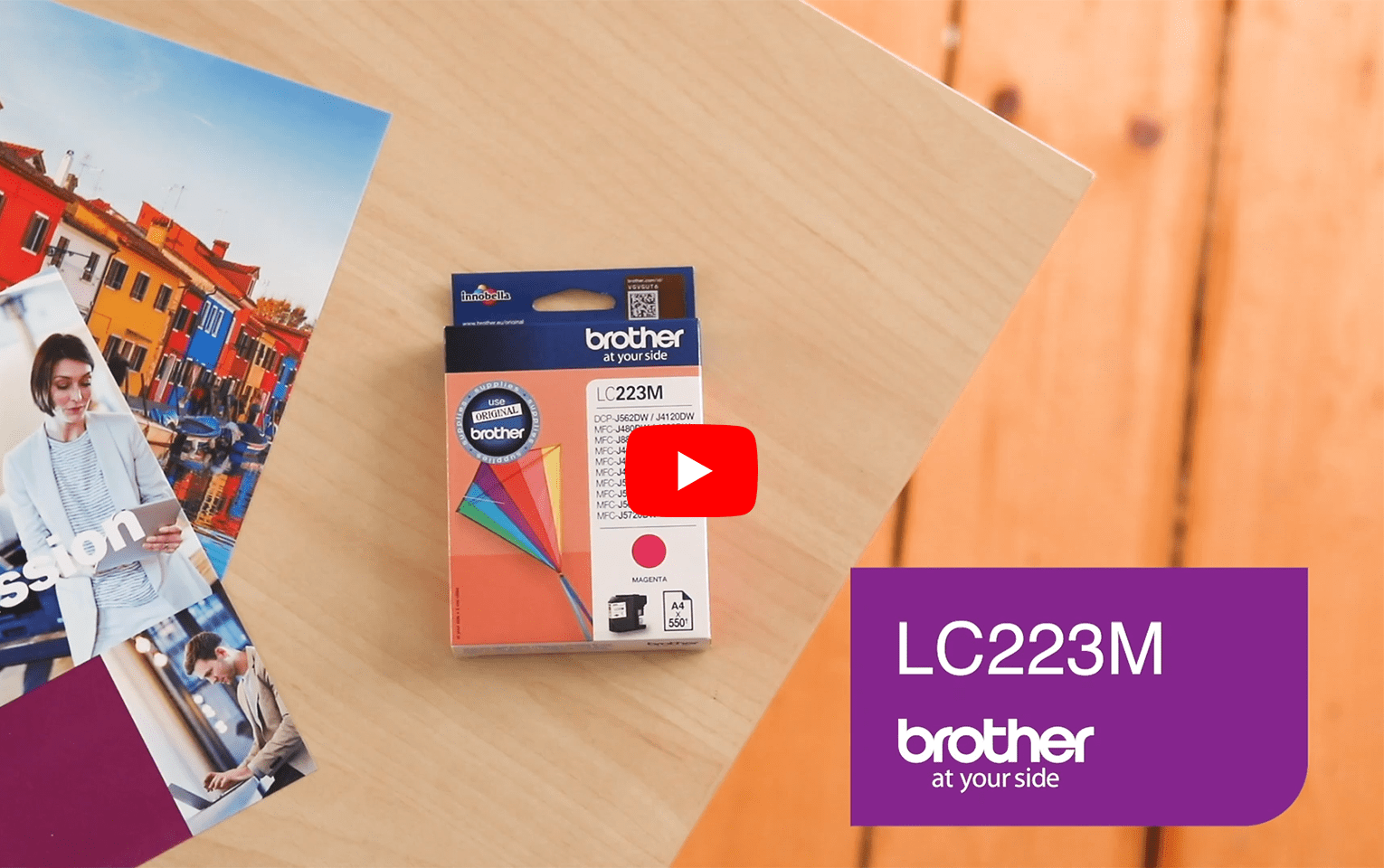 Genuine Brother LC223M Ink Cartridge – Magenta 5