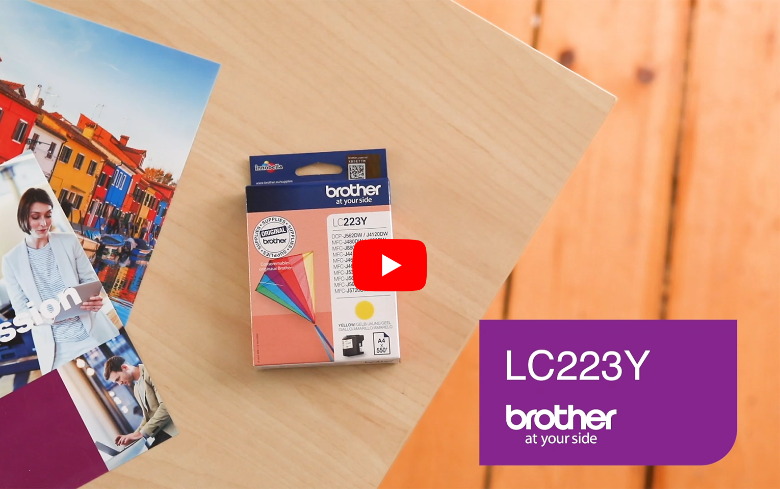 Genuine Brother LC223Y Ink Cartridge – Yellow 5