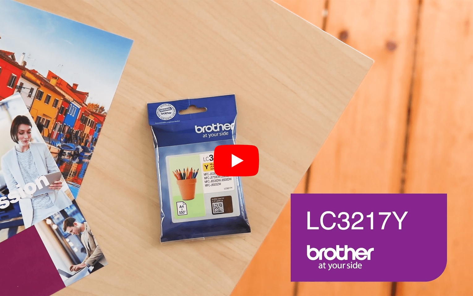 Genuine Brother LC3217Y Ink Cartridge – Yellow 5