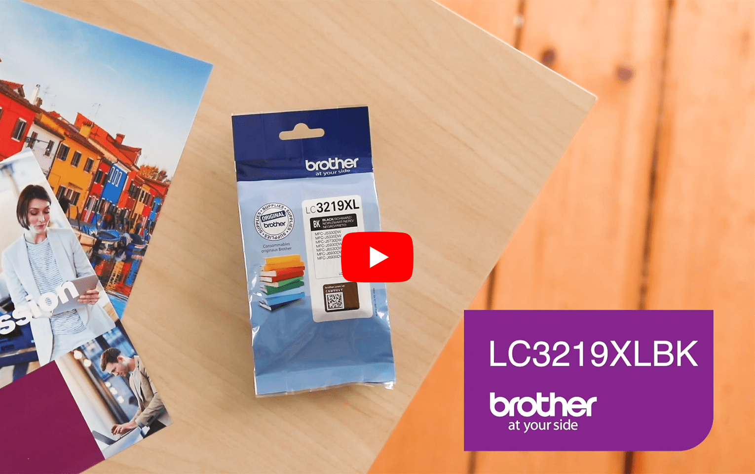 Genuine Brother LC3219XLBK High Yield Ink Cartridge – Black 5