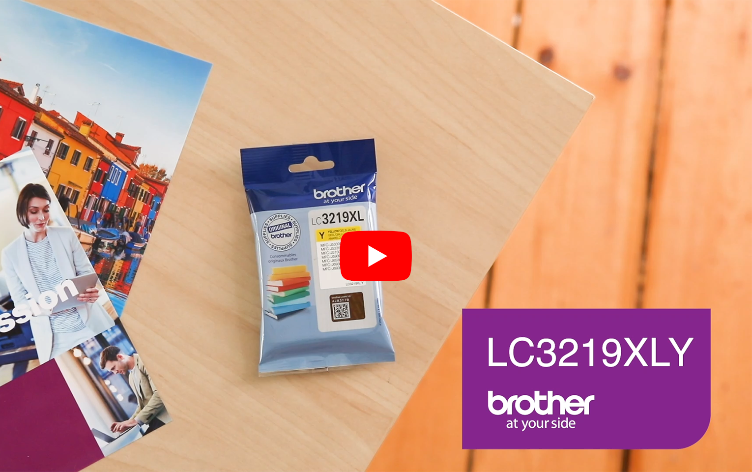 Genuine Brother LC3219XLY Ink Cartridge in yellow 5