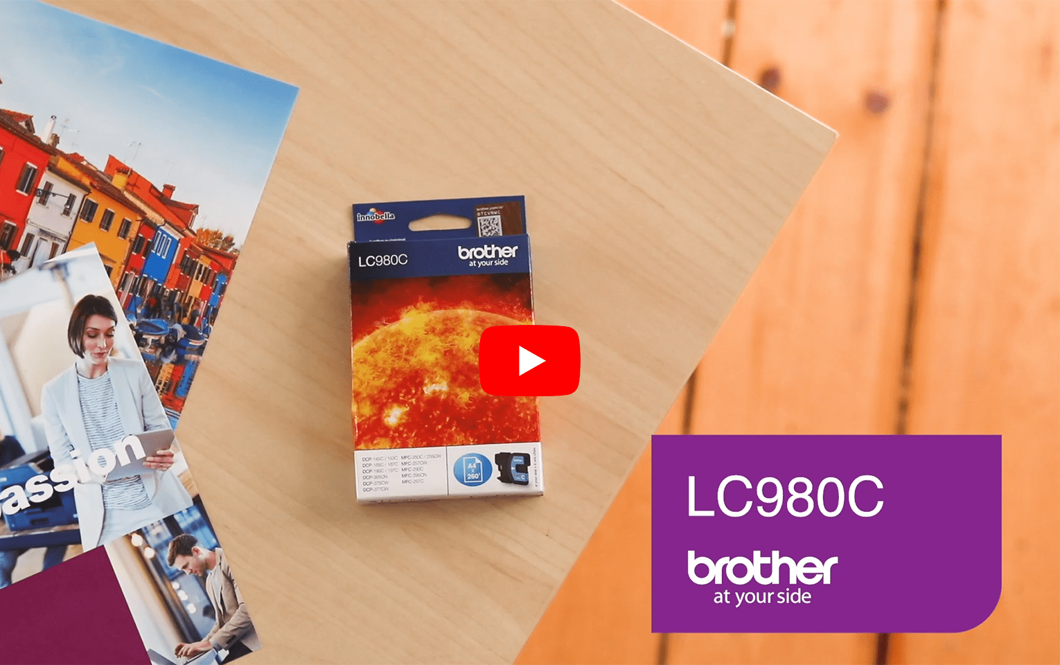 Genuine Brother LC980C Ink Cartridge – Cyan 5