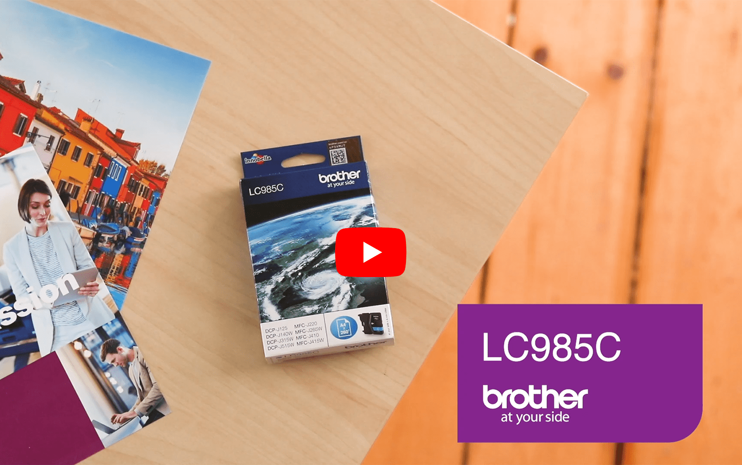 Genuine Brother LC985C Ink Cartridge – Cyan 5