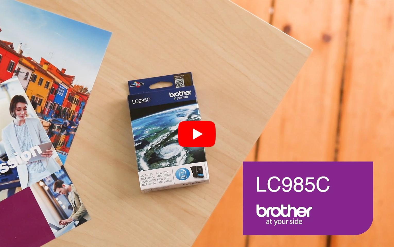 Genuine Brother LC985C Ink Cartridge – Cyan 5