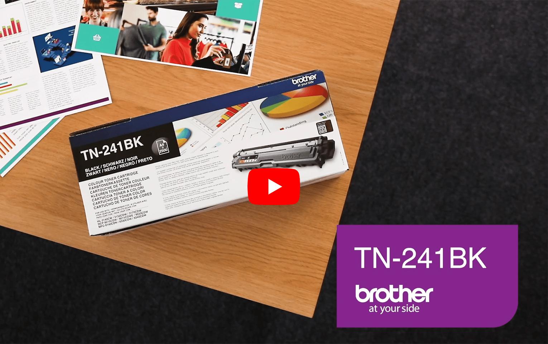 Genuine Brother TN241BK Toner Cartridge – Black 5